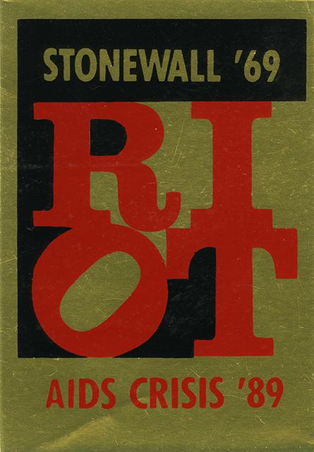 , 'Riot,' 1989, Grey Art Gallery