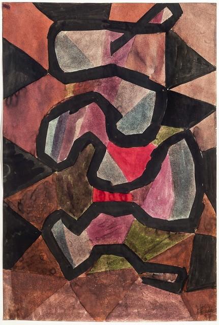 , 'Komposition,' 1957, Galerie Thomas