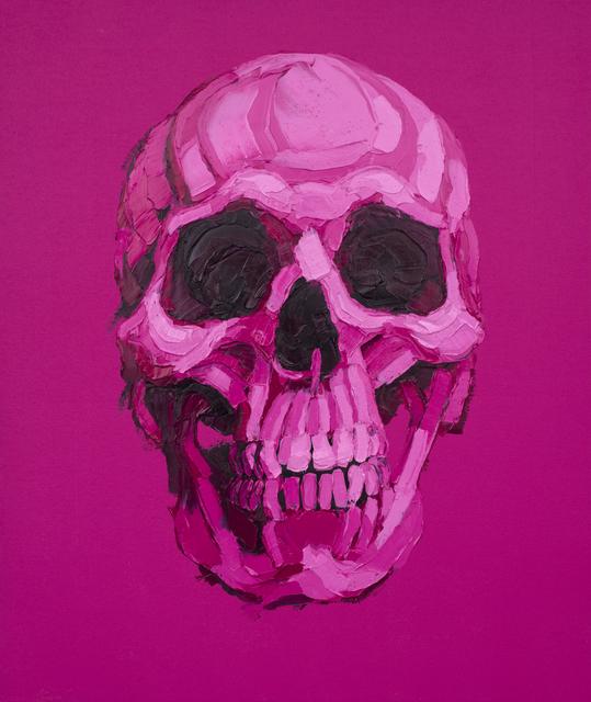 ", '""Pink Pink Skull"",' 2017, Mugello Gallery"