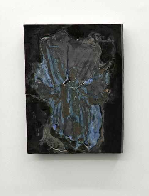 , 'Blue Orchid,' 2015, Transit