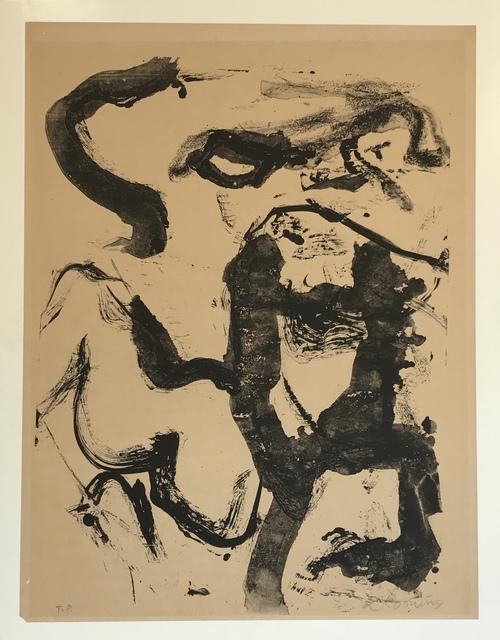 Willem de Kooning, 'Figure at Gerard Beach', 1971, Sragow Gallery