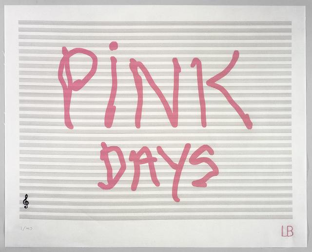 , 'Pink Days,' 2008, Gordon Gallery