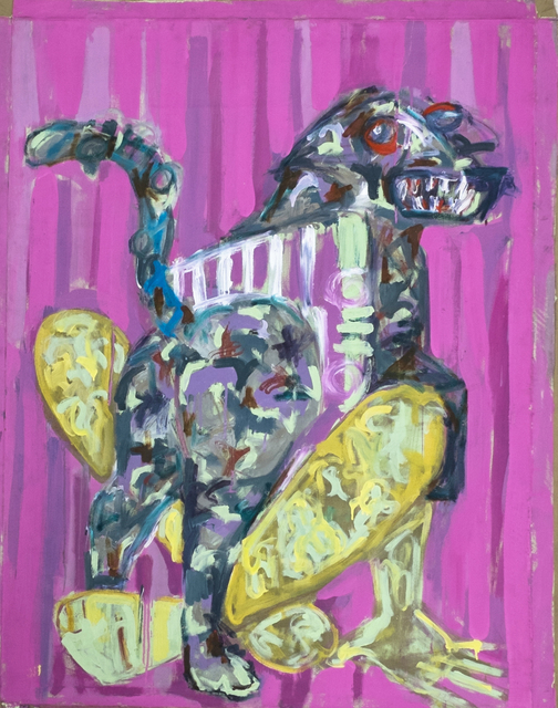 , 'Grey Dog's Life,' 2015, Ethan Cohen New York