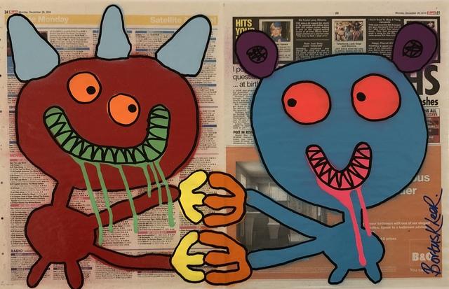 , 'Benny & Lenny - Double Tabloid,' 2014, Kalkman Gallery