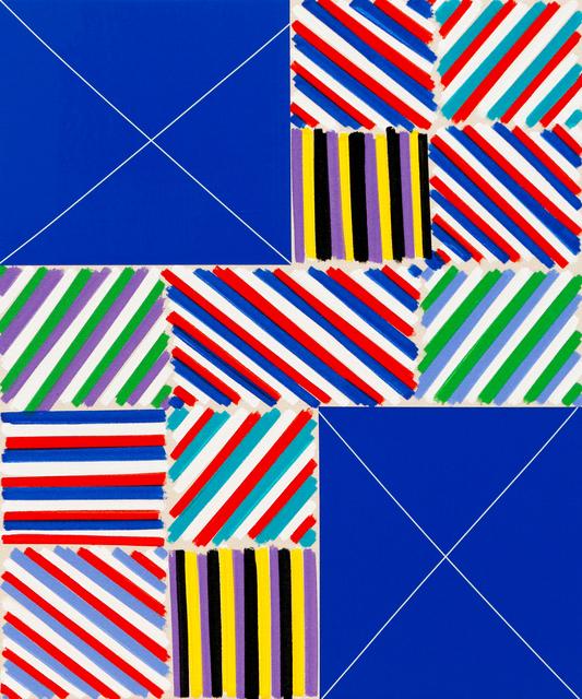 , 'The Elegant Mess (Blue Simple Exes),' 2016, Newzones