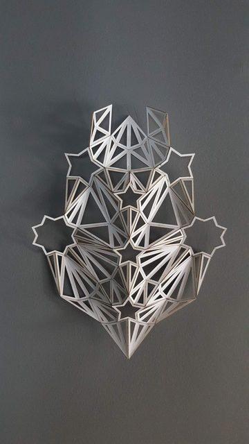 , 'Study for Majaz wall Sculpture,' 2017, BLOK art space
