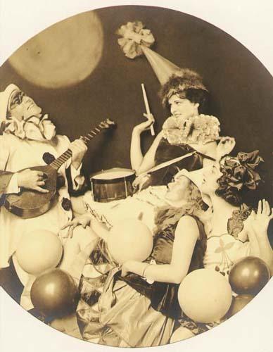 Alfred Cheney Johnston, 'Pierrot Serenading Three Women', 1920s/1920s, Contemporary Works/Vintage Works