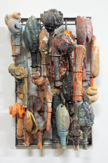 , 'Citrus and Turquoise ,' 2018, Edward Cella Art and Architecture