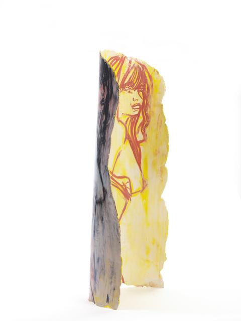 , 'Standing Girl in Yellow,' 2015, Kewenig Galerie