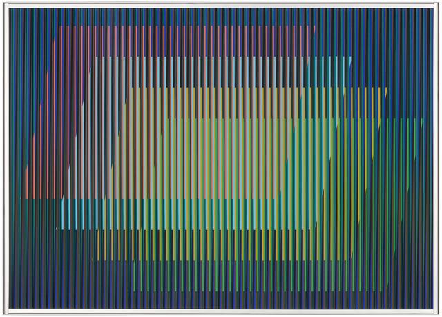 , 'Physichromie n°1882, 3/3,' 2013, Galerie Denise René