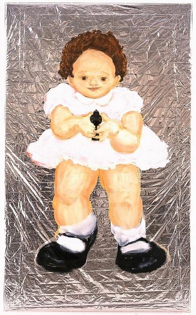 , 'Untitled (Rabbit Baby with a Gun),' 1995, Sperone Westwater