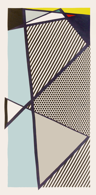 Roy Lichtenstein, 'Roy Lichtenstein, Imperfect Print for B.A.M, woodcut, screenprint, 1987, signed', 1987, Shapero Modern