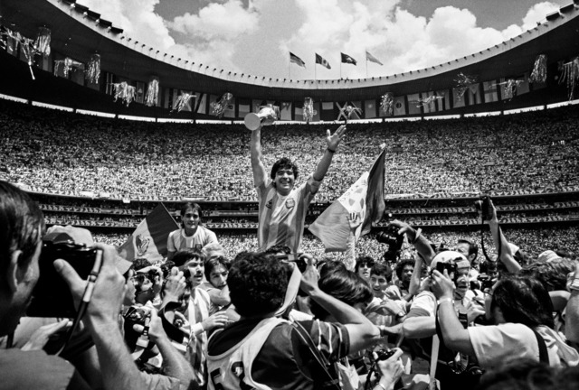 David Yarrow, 'Maradona', ca. 1986, Photography, Archival Pigment Print, Samuel Lynne Galleries