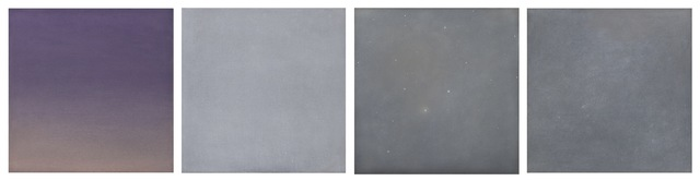 , 'Night Sky 1 - 4,' 2017, J. Cacciola Gallery