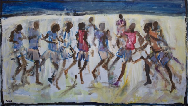 John Maitland, 'Stacks on', 2014, Wentworth Galleries