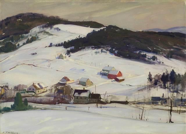 Aldro Thompson Hibbard, 'Winter, Vermont', 20th Century, Vose Galleries