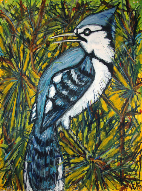 , 'Blue Jay ,' , William Campbell Contemporary Art, Inc.
