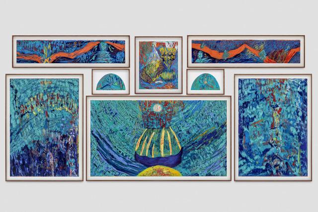 , 'Sensus Oxynation (Moonrise),' 2017, Blum & Poe