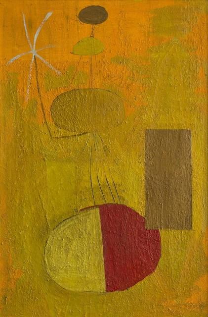 , 'Orange Personage,' 1947, Galerie Thomas