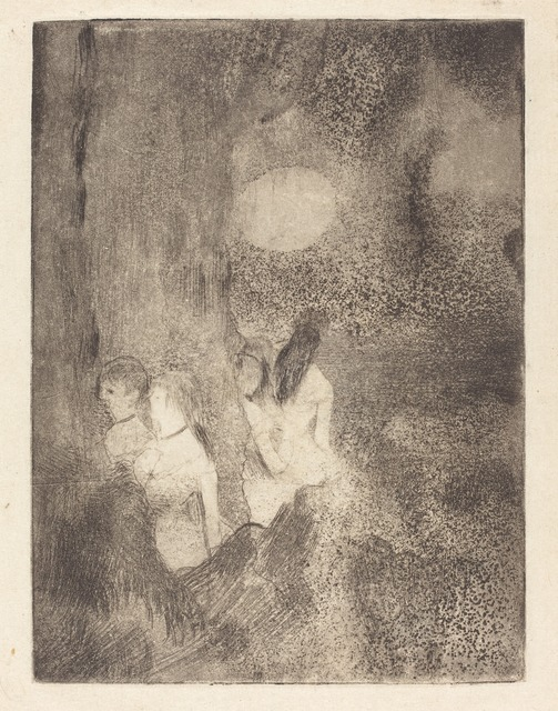 Edgar Degas, 'Dancers in the Wings (Danseuses dans la coulisse)', ca. 1877, National Gallery of Art, Washington, D.C.