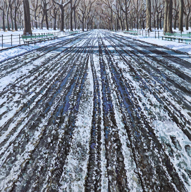 Richard Combes, 'Snow Tracks in Central Park', 2019, Gallery Henoch