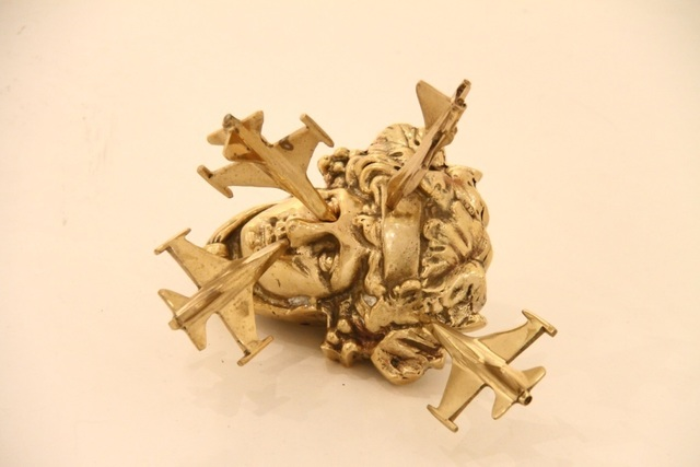 , 'Hermes With Airplane,' 2013, Ekavart Gallery