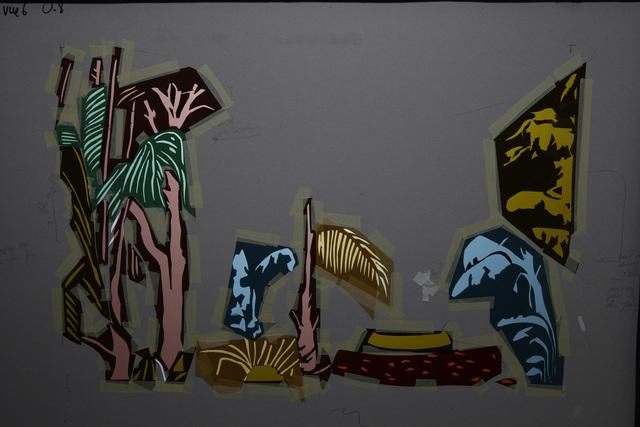 , 'Tropical Tragedy 2 (pochoir),' 2015, Mannerheim Gallery
