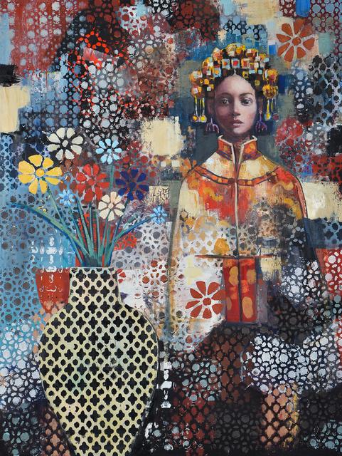 , 'Mindful Pattern,' 2018, Blue Rain Gallery