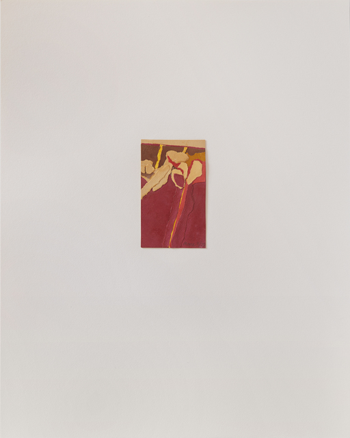 , 'Untitled III (red),' 1978, Susan Eley Fine Art