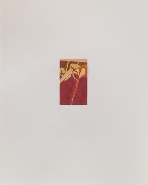 , 'Untitled III (red),' 1978, Susan Eley Fine Art