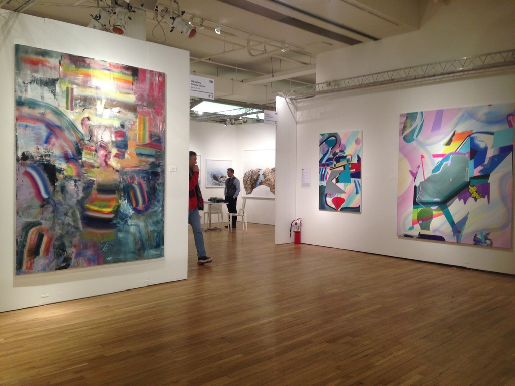 """Diana Copperwhite's """"Close up"""" and Danny Rolph's """"JV-3"""" and """"Attic 1"""" part of the Pulse Projects"""