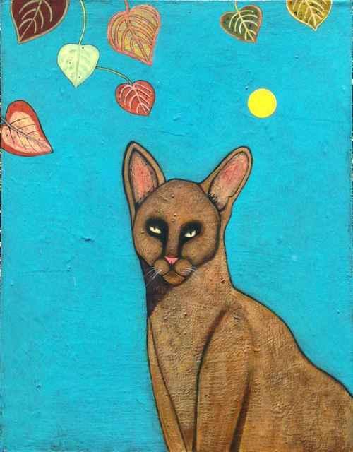 , 'Caramel Cat,' , Sorrel Sky Gallery