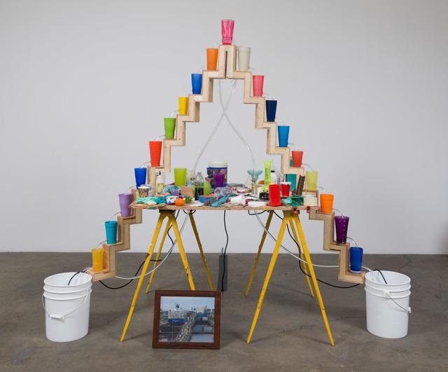, 'The Border,' 2016, Ghebaly Gallery