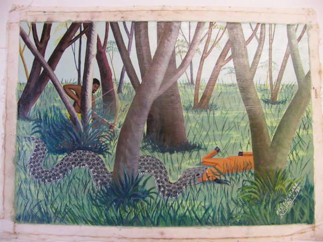 , 'Serpent avale antilope ,' , Centre for Fine Arts (BOZAR)
