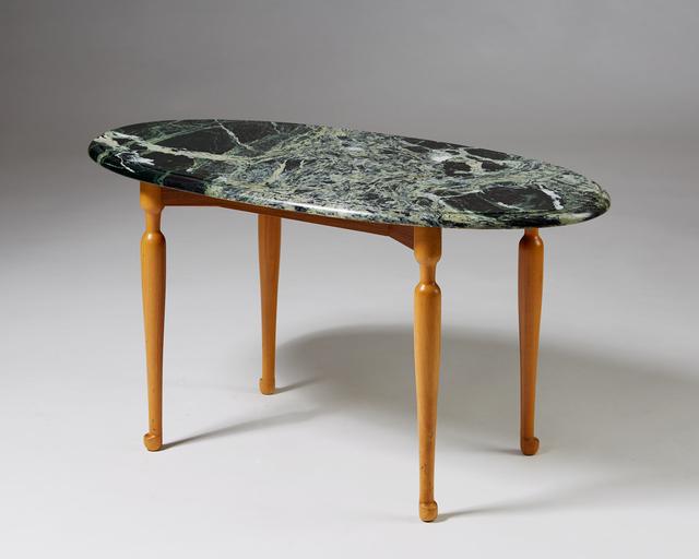 , 'Occasional table designed by Josef Frank for Svenskt Tenn,  Sweden, 1939. ,' 1939, Modernity