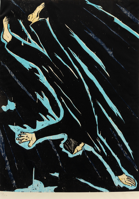 Richard Bosman, 'Falling Man', Hindman