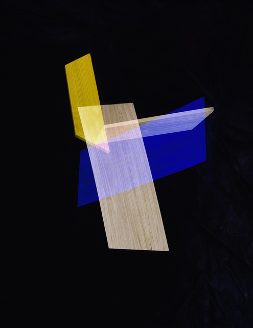 , 'Blue, Yellow Intersection,' 2014, LaCa Projects