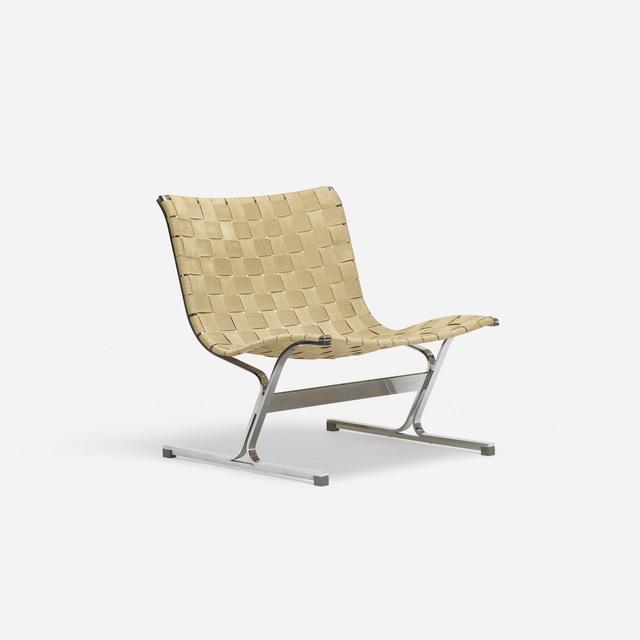 Ross Littell, 'PLR 1 lounge chair', c. 1968, Rago/Wright