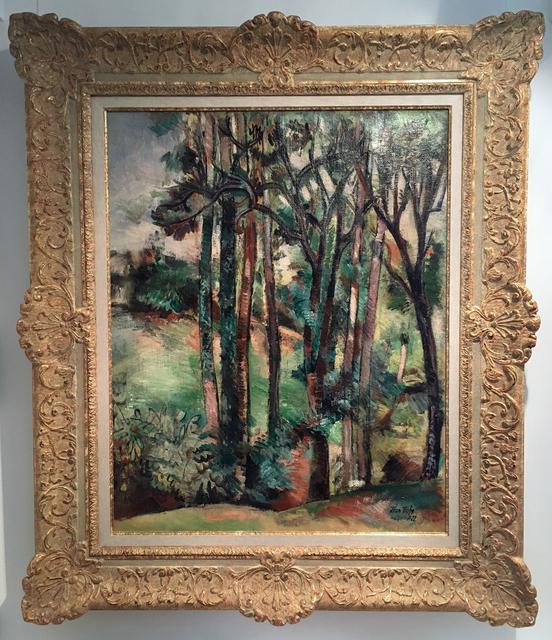 Jean Dufy, 'L'Orée du Bois', 1922, Painting, Oil on Canvas, Trinity House Paintings