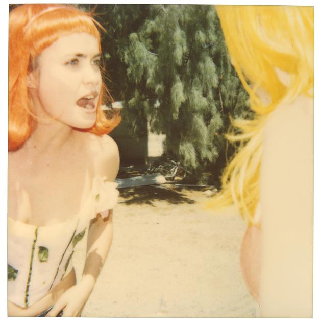 Stefanie Schneider, 'Radha Screaming II', 1999, Photography, Digital C-Print based on a Polaroid, not mounted, Instantdreams