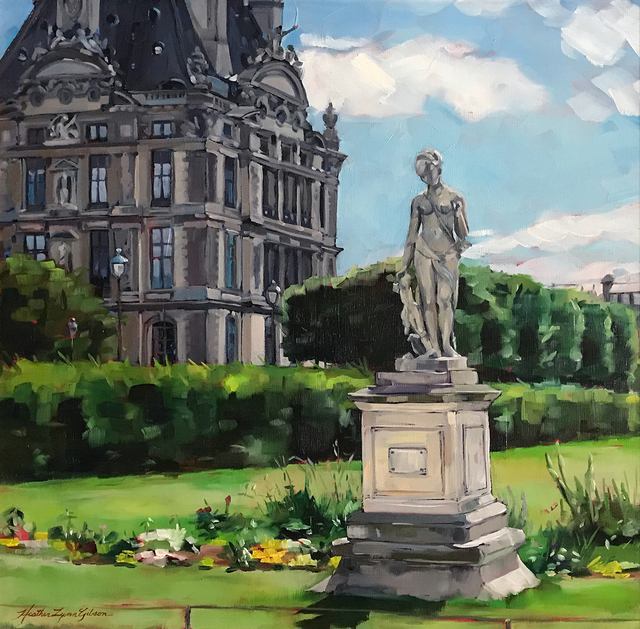 , 'The Louvre and Diana,' , Peninsula Gallery