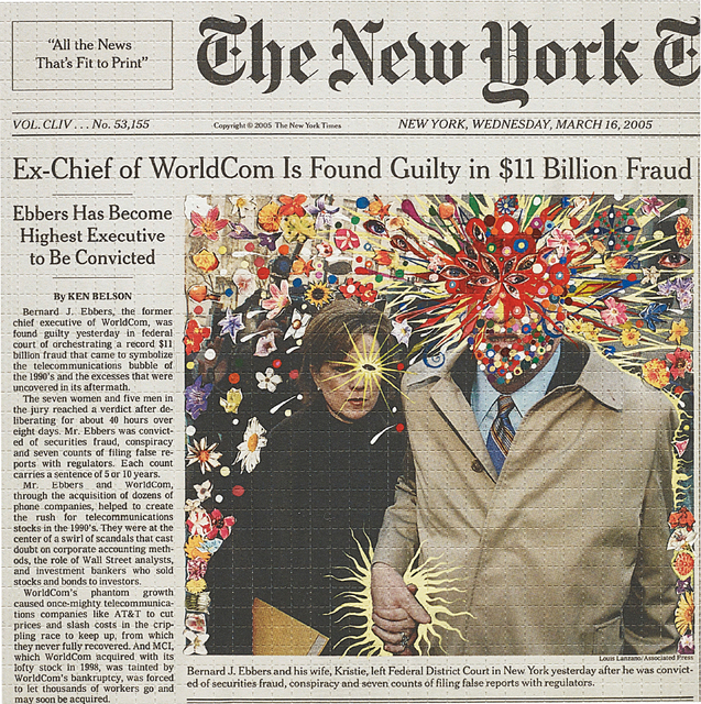 Fred Tomaselli, 'Guilty', 2005, Phillips