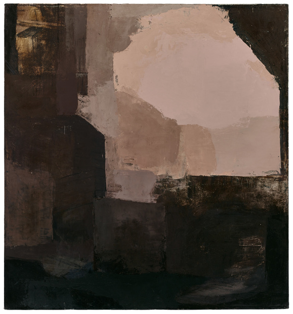 , 'Untitled (black and rust painting),' 2012, Bridge Productions