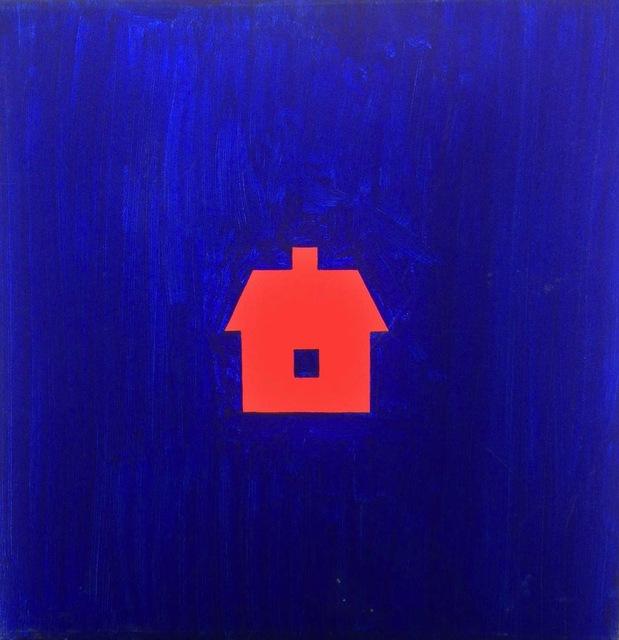 , 'Blät Rum Med Rødt Hus,' 1981, TIF SIGFRIDS