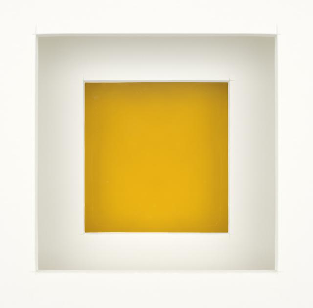, 'Untitled (egg yolk),' 2018, Elizabeth Leach Gallery