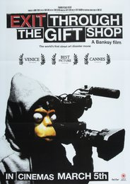 Exit Through the Gift Shop/Forgive Us, poster