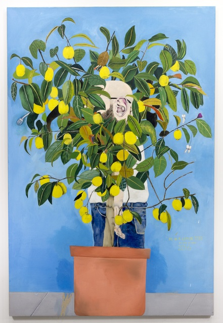 , 'M. In A Lemon Tree,' 2017, Galerie Sébastien Bertrand