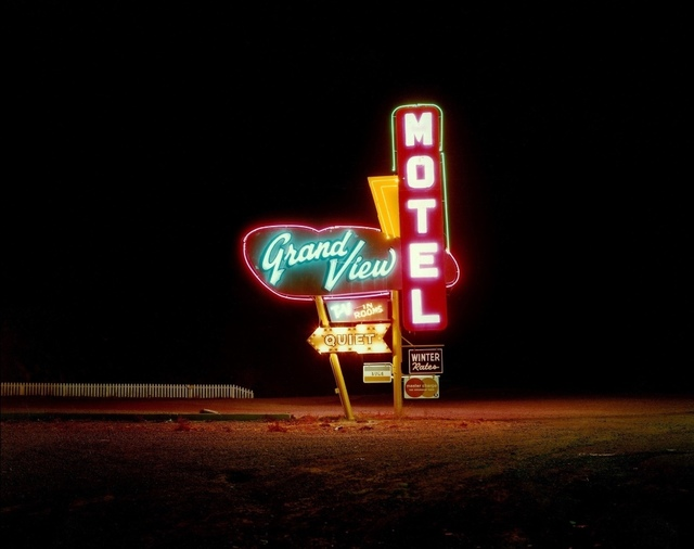 , 'Grand View Motel, Highway 87, Raton, New Mexico,' 1980, Kopeikin Gallery