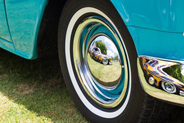 , 'Vintage Car, Blue,' 2020, PHOTIQ