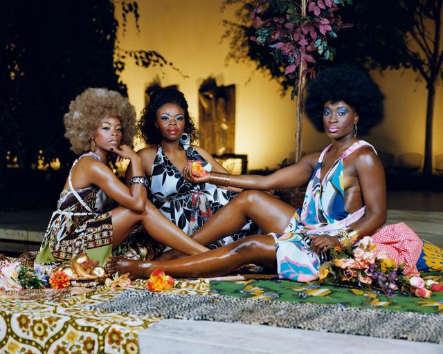 , 'Le déjeuner sur l'herbe: Les Trois Femmes Noires,' 2010, Steven Kasher Gallery